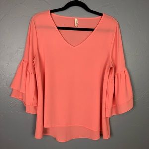 Tyche 3/4 sleeve blouse size M